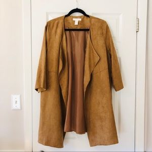 Suede jacket by H&M, worn once!